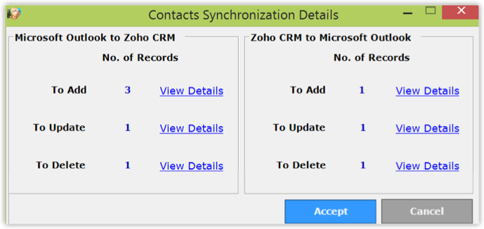 Plug-in for MS Outlook - Online Help - Zoho CRM