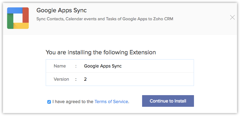 G Suite sync - Online Help - Zoho CRM
